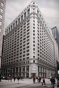 Conway Building (1913), 111 West Washington Street, The Loop, Chicago, Illinois