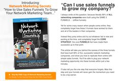 Are you thinking of becoming an Affiliate Marketer? Well, this is the PERFECT way to start. You start one step at a time. Let me and Russell Brunson show you the way to Make It Online Email Marketing, Internet Marketing, Social Media Marketing, Digital Marketing, Networking Companies, Web Design Tips, Seo Tips, Web Development, How To Make Money