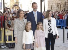 ♥ La Princesa Leonor y la Infanta Sofía protagonistas en la misa de Pascua con looks de NANOS ♥ : Blog de Moda Infantil, Moda Bebé y Premamá ♥ La casita de Martina ♥