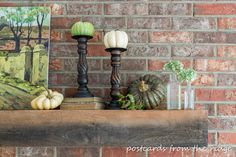 9 inspiring ways to make your fireplace cozy for fall - Postcards from the Ridge