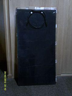 Elastyczny Panel Słoneczny 100W, 18V. Na czarnym tle. | eBay