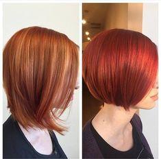 Formula: Hot, Haute Red Haircolor Using Goldwell