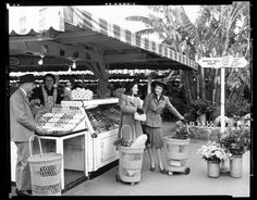 Original Farmers Market, Los Angeles, 1950