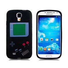 Gameboy Black Samsung Galaxy S4 Case