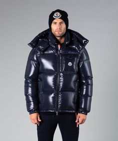 Cool Jackets, Winter Jackets, Mens Down Jacket, Puffy Jacket, Moncler, A Good Man, Beautiful Men, Leather Jacket, Suits