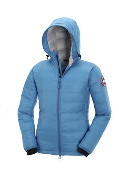Canada Goose Camp Hooded azul