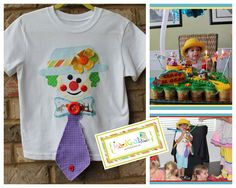 5d5bce8a039 Circus shirt. Perfect for a CIRCUS birthday party! clown tee