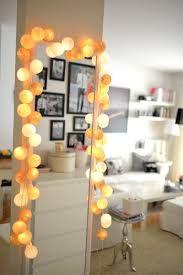 Cottonball lights.