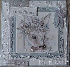 Vanmorgen samen met Karla een kerstkaart gemaakt Met onze nieuwe spullen van MD Fijne dag Groetjes Gerrie Christmas Cards 2017, Christmas Card Pictures, Xmas Cards, Christmas Time, Diy And Crafts, Paper Crafts, Shabby Chic Cards, Shabby Chic Christmas, 3d Cards