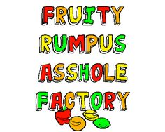 This needs to be a tshirt design.- only problem is the fruit wouldn't be able to move