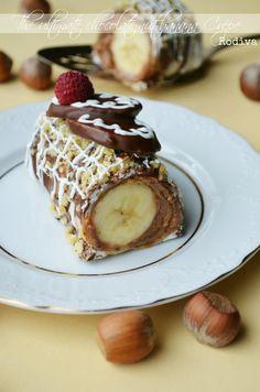 Clatite cu ciocolata si banane din Carte de bucate, Dulciuri. Specific Romania. Cum sa faci Clatite cu ciocolata si banane