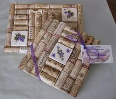 I have a bunch of wine corks and need to figure out what to do with them...trivets?