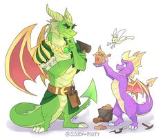 I was disappointed that no MagicCrafter dragons had been revealed yet! Guess we'll just have to wait till the game is finally released. Maybe I will nestor turn this series into a. Dragon Z, Dragon Warrior, Spyro The Dragon, Spyro And Cynder, Anthro Dragon, Anime Animals, Furry Art, Furry Pics, Video Game Art