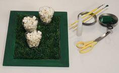 Ela pode ser usada para servir comidas e bebidas, além de decorar a mesa
