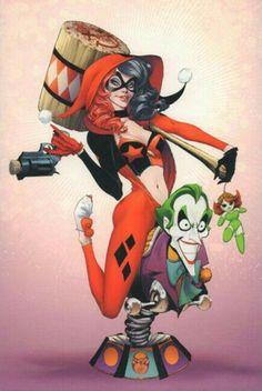 Harley Quinn Harley Quinn Drawing, Joker And Harley Quinn, Joker Art, Batman Art, Female Villains, Daddys Lil Monster, Hq Marvel, Gotham Girls, Jokers