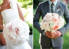 {Wedding Trends} : Peony Bouquets - Part 2  | bellethemagazine.com