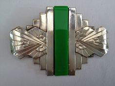 French Art Deco brooch