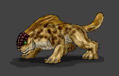Splinter Cat by Scatha-the-Worm.deviantart.com on @DeviantArt