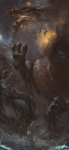 ArtStation - chinese dragon, scott yao