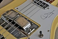 Chris Squire Rickenbacker, the magical 4001CS series. I want to get my hands on this one.
