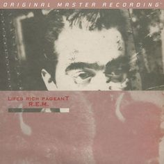 R.E.M. - Lifes Rich Pageant on Numbered Limited Edition 180g LP from Mobile Fidelity