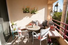 Find out how to maximize your tiny balcony, terrace or patio.