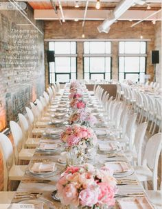 Table linen colour and florals