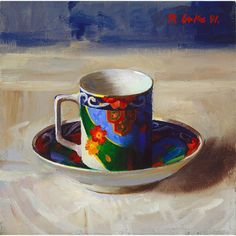 Teacup - Randall Lake Art