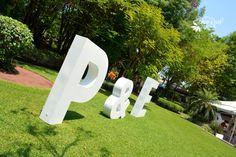 Letras gigantes #Bodas Quinta Pavo Real del Rincón www.pavorealdelrincon.com.mx
