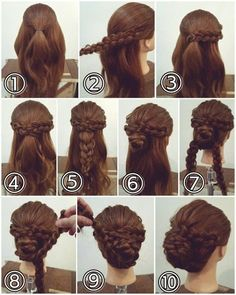 Hairstyles for long hair for prom - long curly hairstyles for prom, prom hairsty. Hairstyles for long hair for prom – long curly hairstyles for prom, prom hairsty… – Curly Prom Hair, Curly Hair Styles, Natural Hair Styles, Updo Curly, Updo Styles, Braided Hairstyles, Wedding Hairstyles, Cool Hairstyles, Hairstyle Ideas