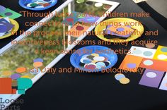 Children use loose parts to design and re-design a wide variety of possibilities.
