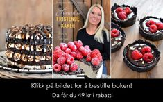 enkel rabatt Jeg har klart f svigermor til rpe opp - rabatt Norwegian Food, Norwegian Recipes, Pastry Cake, Raspberry, Projects To Try, Food And Drink, Baking, Fruit, Oreos