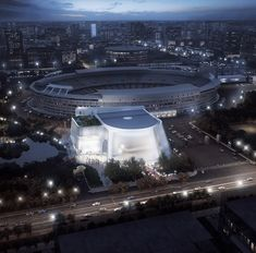 MAD Architects Unveils Design for Translucent China Philharmonic Hall in Beijing,Bird's Eye View. Image Courtesy of MAD Architects