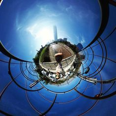 Super sunshine Saturday  and the highest building in South America @mallcostaneracenter  #costaneracenter #santiagodechile #chile #tinyplanet #theta360 #theta360official #littleplanet #photoshpere #livingplanetapp #ricohtheta #360camera #smallworld #spherical #roundworlds #tinyplanetbuff #360panorama #360photography #ricohtheta360 #webstapick