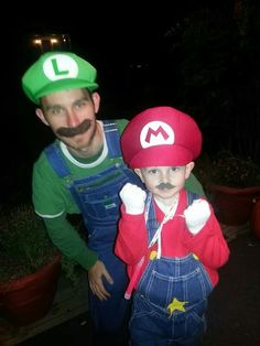 Great father and son costumes