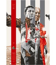 Looper   Silver Colorway Martin Ansin poster