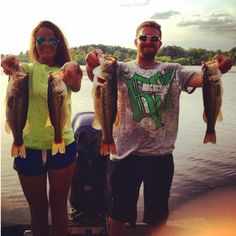 Rippin lips . Couples that fish together stay together ~dyesgirl