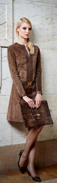 FASHION brown women fashion outfit clothing style apparel @roressclothes closet ideas
