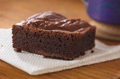 Sencillos brownies a la moca receta