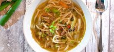 Asian Recipes, Ethnic Recipes, Soup And Salad, Japchae, Soup Recipes, Salads, Bbq, Food And Drink, Favorite Recipes