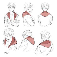 """みゆりMiyuli on Twitter: """"Hoodie study… """" Comic Artist, Artist Art, How To Draw Hoodies, Digital Art Tutorial, Drawing Reference Poses, Drawing Base, Drawing Clothes, Art Drawings Sketches, Body Sketches"""