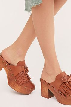 Ashley Clogs   Free People Clog Boots, Clogs Shoes, Flats, Wooden Clogs, Slip On Mules, Teacher Style, Leather Clogs, Retro Fashion, Ankle Strap