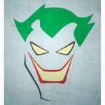 Minimalist Superhero Poster -  Joker