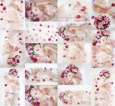 maternity milk bath flowers https://www.facebook.com/andelleschenachphotography/