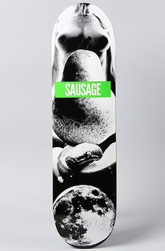 """""""Moon Shake"""" in Size 8.25"""" by Sausage Skateboards"""