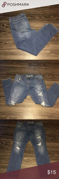 Ava & Viv ripped plus size jeans Ava & Viv plus size ripped jeans. Gently used. So comfortable Ava & Viv Jeans Skinny
