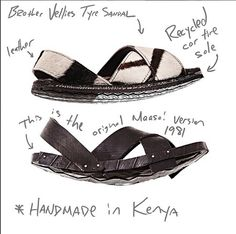 Brother Vellies- Tyre sandal