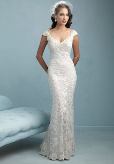 Allure Bridals Love  the neckline