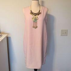 Mng By Mango Light Pink Dress
