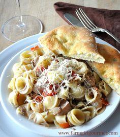 Quick Herb Chicken Pasta » Farmgirl Gourmet